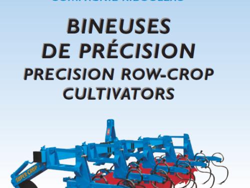 Manual de binadora MONOSEM modelo super-crop año 2013